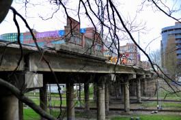 Во время ремонта второй половины моста на Озерова направление движения транспорта не изменится