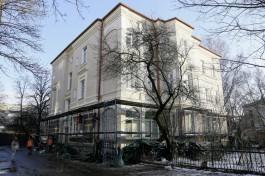 В Калининграде с дома начала XX века на улице Комсомольской сняли строительные леса