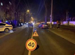 На улице Емельянова в Калининграде «Форд» с пьяным водителем въехал в «Хёндай»