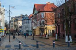 В Зеленоградске хотят установить подсветку на трёх домах на Курортном проспекте