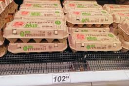 «Дорогой корм и ветпрепараты для куриц»: в Калининграде резко выросли цены на яйца