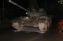 Пьяный житель Польши ездил по городу на советском танке