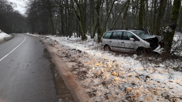 ВДТП наКуршской косе умер шофёр