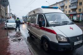 Полиция разыскивает водителя, который сбил женщину на Советском проспекте в Калининграде