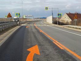 На трассе Калининград — Нестеров ограничат движение до ноября из-за строительства перехода