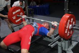 Калининградский спортсмен стал бронзовым призёром чемпионата Европы по классическому жиму