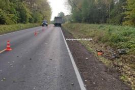На трассе Советск — Гусев «Мерседес» насмерть сбил 38-летнюю велосипедистку