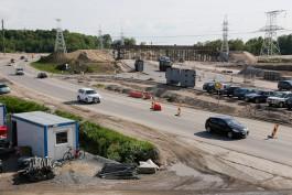 «К лету не успеют»: как строят развязку в конце улицы Невского в Калининграде