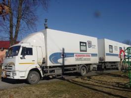 Передвижная поликлиника в Калининградской области приняла более двух тысяч пациентов