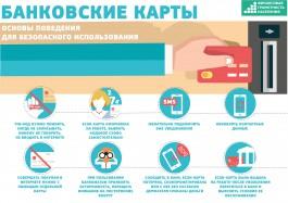 Кибербезопасность или безопасное использование платёжных карт