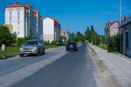 С 1 октября в Зеленоградске ограничат движение на дороге в сторону Куршской косы