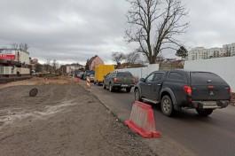 «Погода благоприятствует»: как идёт ремонт улицы Гагарина в Калининграде