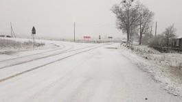 «Первый пошёл»: в Калининградской области выпал снег