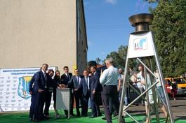 В Гвардейске ввели в эксплуатацию 16 километров газопровода