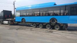 «Отправился на родину»: электробус «Волгабас» уехал из Калининграда
