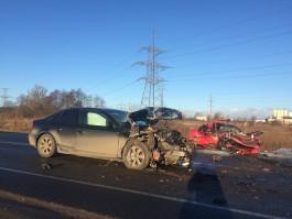 В аварии на Южном обходе Калининграда погиб пассажир БМВ