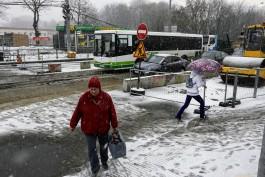 В Калининграде частично закрыли движение на перекрёстке у ТЦ «Виктория» на Южном вокзале