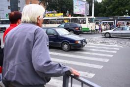 За сутки в Калининграде сбили трёх пешеходов