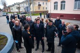 «Политический отщепенец»: как Алиханов Балтийский район осматривал
