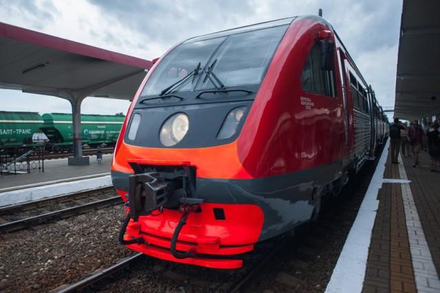 Поезд Калининград— Гдыня отправился в 1-ый рейс