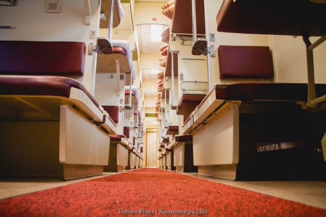 Литва разрешила увеличить число пассажиров поездов в Калининград до 200