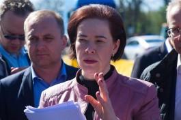 Дятлова: Мы продолжим развивать в Калининграде интермодальные перевозки