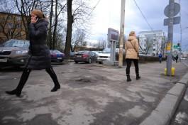 На ремонт тротуаров на трёх улицах Калининграда выделили 6,4 млн рублей