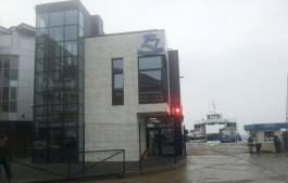 В Балтийске открыли новый вокзал у переправы на косу