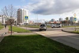 До конца года в Ленинградском районе Калининграда установят новые скамейки и урны