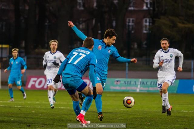 «Авангард» проведет последний выездной матч года вКалининграде