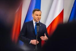 Президент Польши: Россия представляет военную угрозу