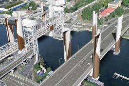 Алиханов показал новые эскизы двух мостов через Преголю с сохранением двухъярусного
