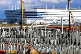 Новое отделение для больных коронавирусом откроют у стадиона «Калининград»