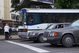 В ДТП на Ленинском проспекте пострадала 64-летняя жительница Калининграда
