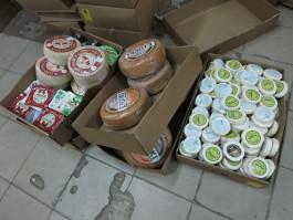 Калининградские таможенники нашли шесть тонн санкционных сыров в партии мясной продукции