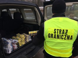 В Польше во время праздников задержали 12 контрабандистов на границе с Россией