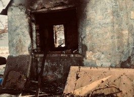 При тушении пожара в частном доме в Калининграде обнаружили тело женщины