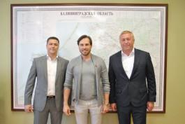 Ещё одним послом Калининграда на ЧМ-2018 стал Александр Ревва