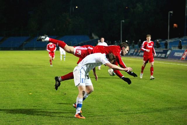 «Мордовия» одержала первую победу савгуста, обыграв «Балтику»