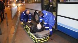 На Ленинском проспекте в Калининграде автобус переехал ногу пенсионеру