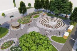 «Троечная работа и детский уровень»: архитекторы оценили проект реконструкции сквера у КМРК в Калининграде