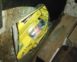 Калининградец пытался вывезти в Литву 314 пачек сигарет