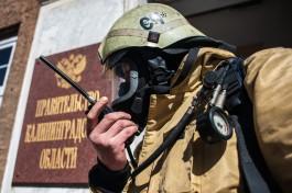 «Из кабинетов за 6,5 минут»: чиновников областного правительства эвакуировали во время пожарных учений