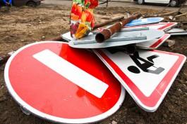 В Калининграде выделяют 68 млн рублей на ремонт коллектора на Тенистой аллее, где провалился автомобиль