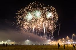 «Красочные вспышки»: как прошёл первый день Мирового чемпионата фейерверков в Калининграде