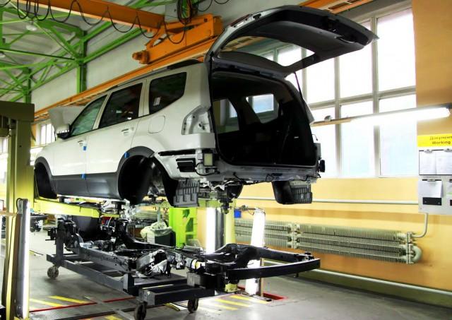 «Автотор» начал производство улучшенного джипа Кия Mohave