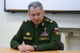 Шойгу рассказал об активизации разведки НАТО у российских границ