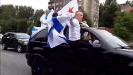 Полицейские задержали в Калининграде колонну курсантов-нарушителей на БМВ