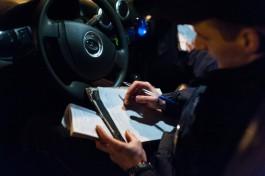 В Гурьевске мужчина из базы федерального розыска попался на пьяном вождении