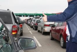 Польская таможня предупреждает об очередях на границе с Калининградской областью